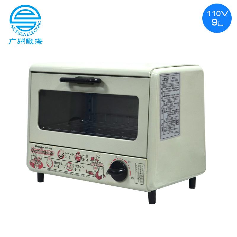 110V外贸出口电烤箱9L