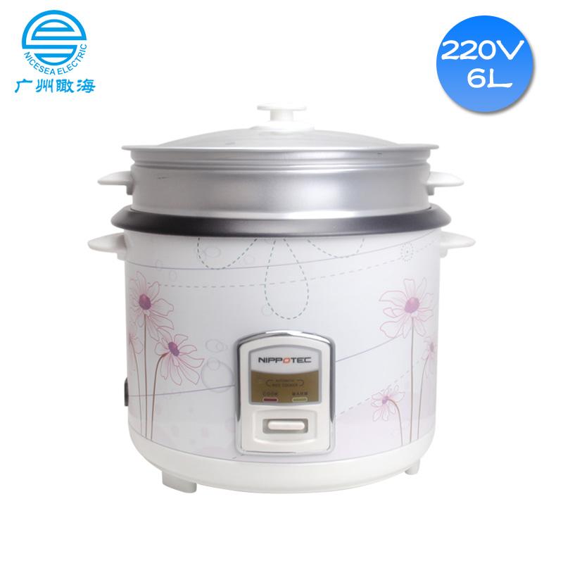 220V外贸船用电饭锅6L电饭煲