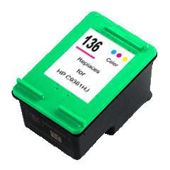 HP打印机 墨盒 136彩色