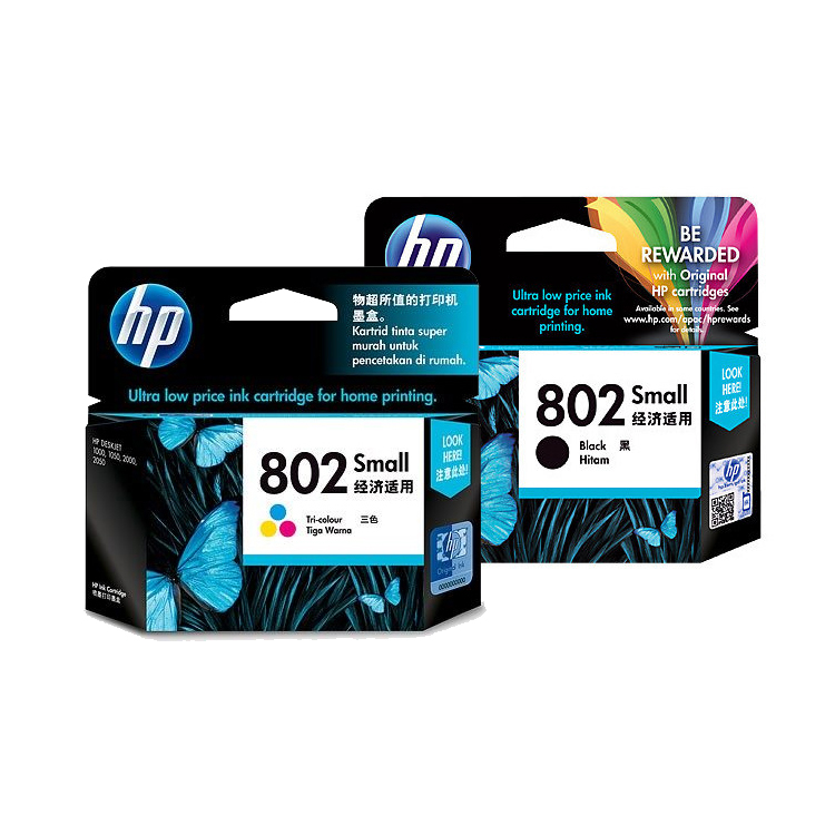 hp802墨盒 惠普1510 墨盒 hp1010 1511 1000 1050打印机墨盒