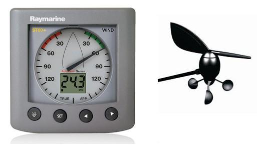 英国 Raymarine雷松ST60型号风向风速仪