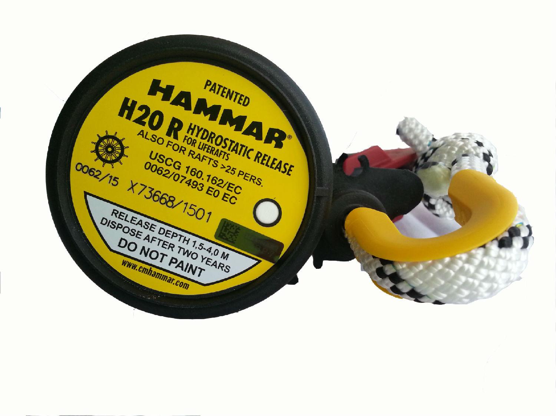 救生筏静水压力释放器 HAMMAR