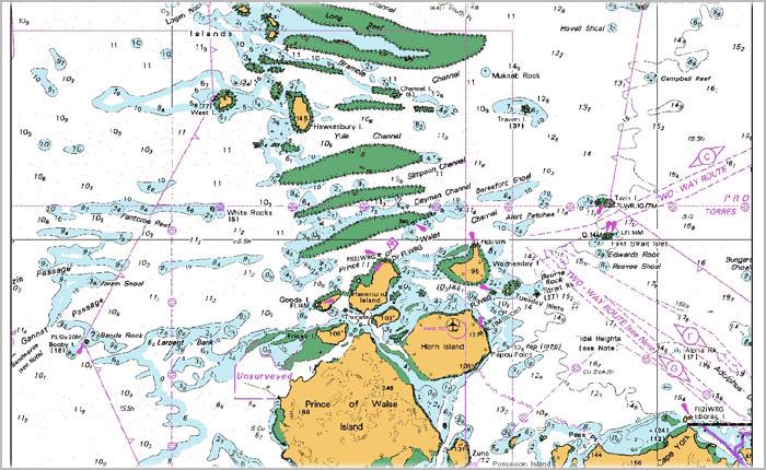 澳版海图AUS NO.0014-5001