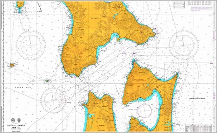 日版海图 BAJP NO.0010-1267
