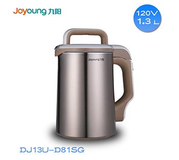 九阳110V伏出国专用多功能豆浆机DJ13U-D81SG