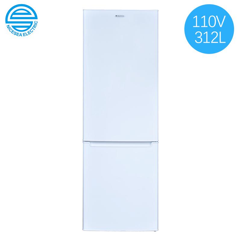 110V双门电冰箱312L